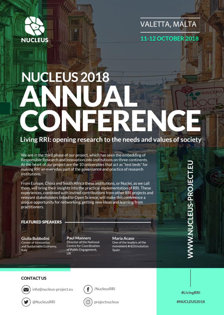NUCLEUS conference invitation