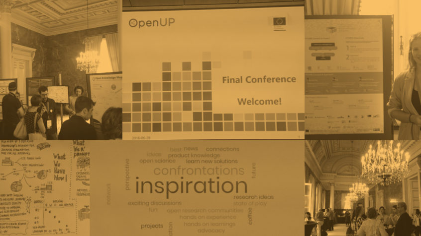 OpenUp Open Science conference impressions