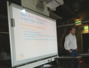 Pedro Principe presenting WP4