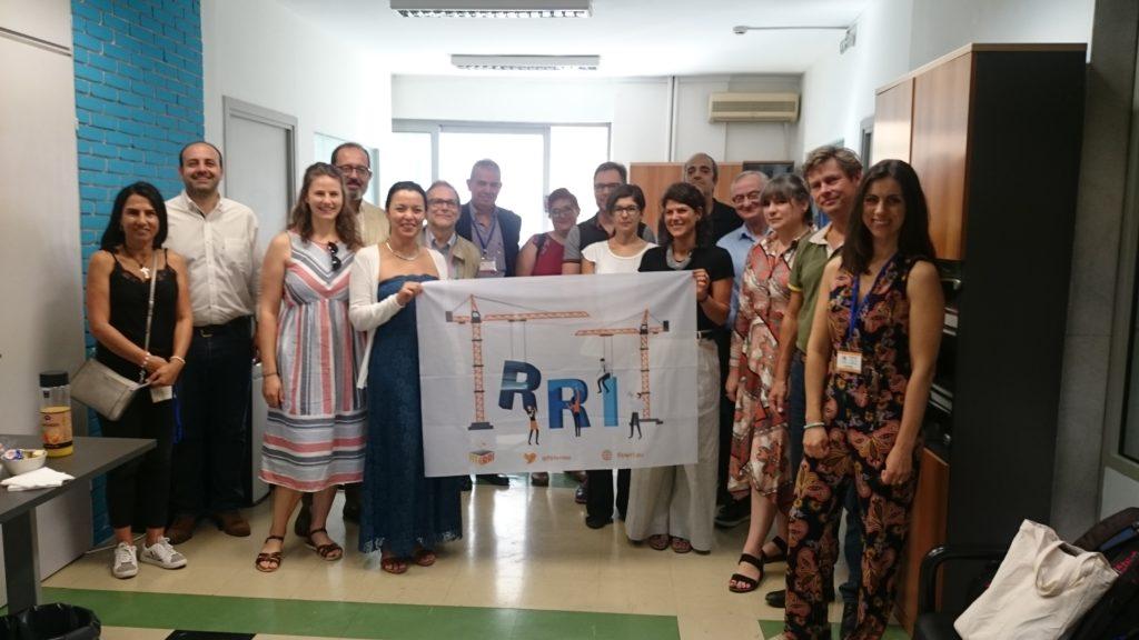 group picture FIT4RRI consortium